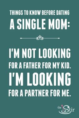 Disadvantages of dating a single father