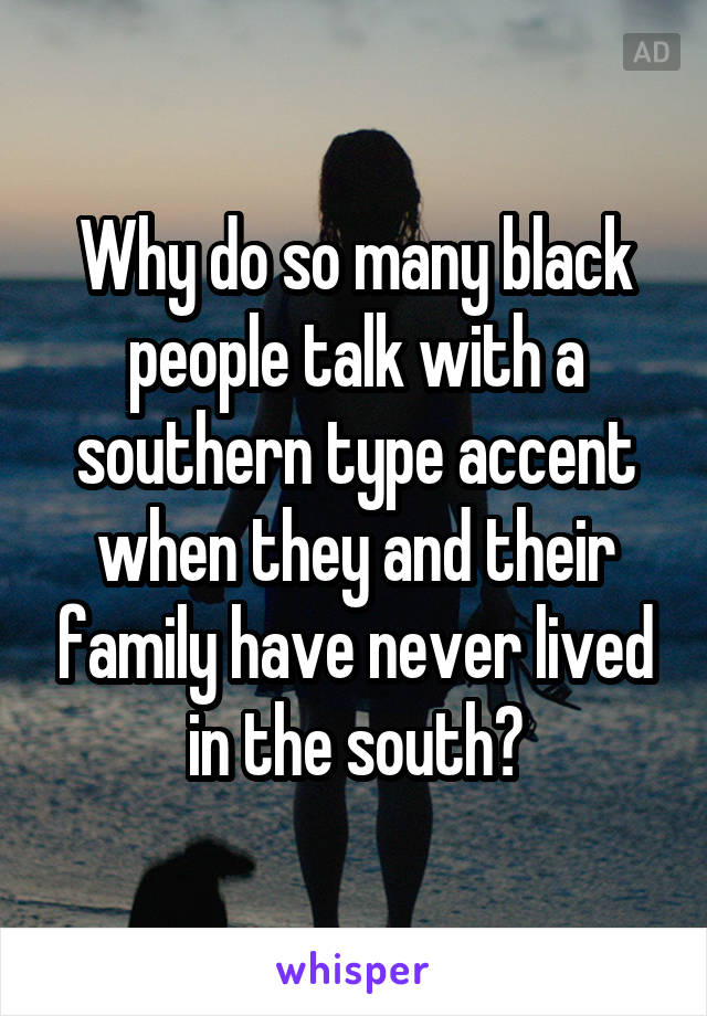 Why do black people talk so much