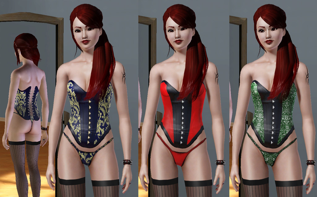 The sims 3 sexy clothes