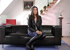 Sex in leather boots fetish video
