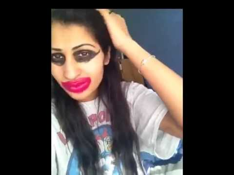 Girls who wear to much makeup