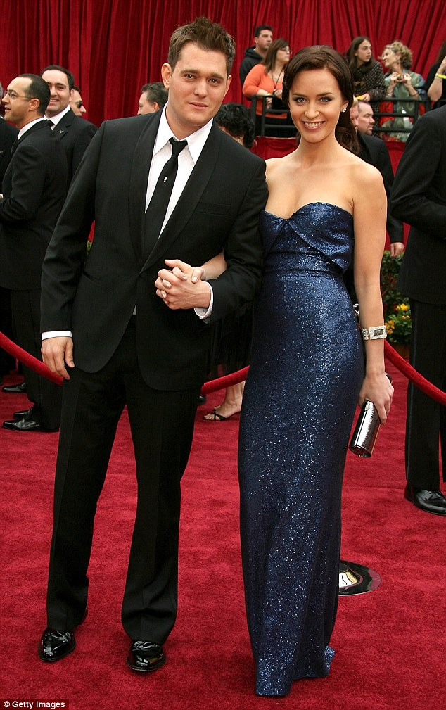 How long did emily blunt dating michael buble
