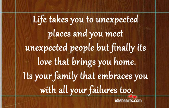 Quotes about unexpected events in life