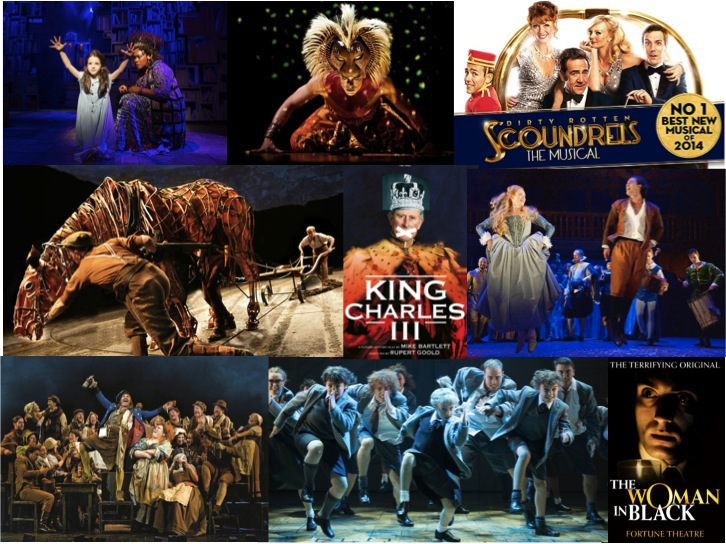Best west end shows