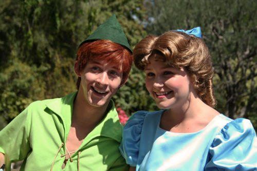 Peter pan and wendy get married