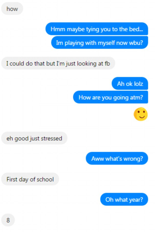 First message on facebook to a girl