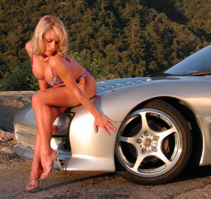 Cool cars with girls