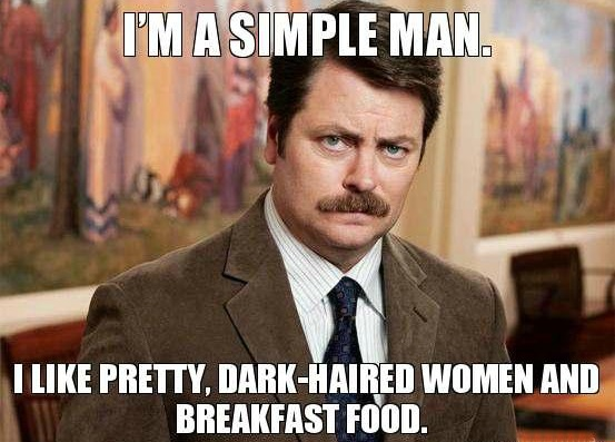 Dating a simple man