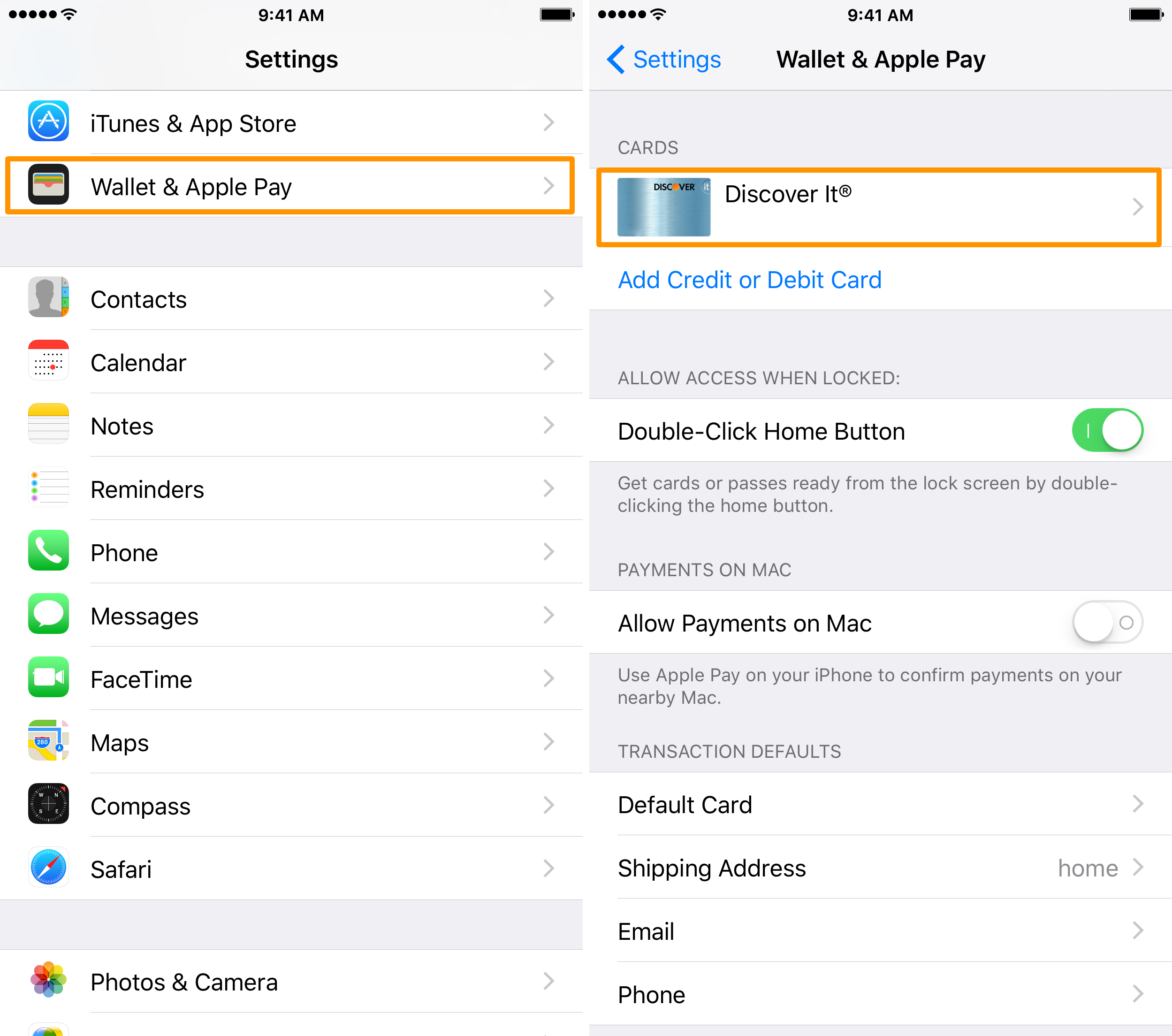 How to get credit card off itunes