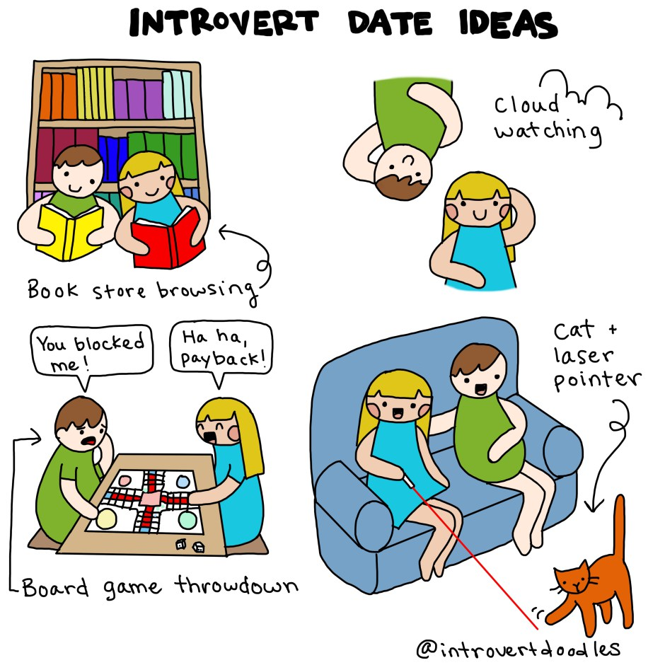 Introverts dating introverts