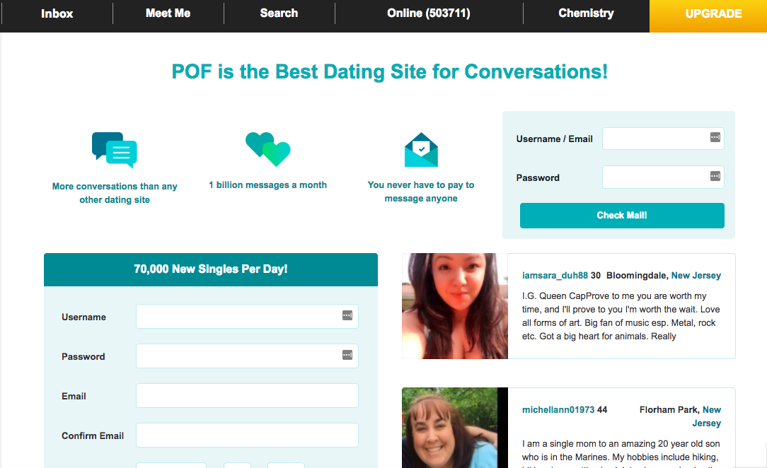 Online dating sites similar to okcupid