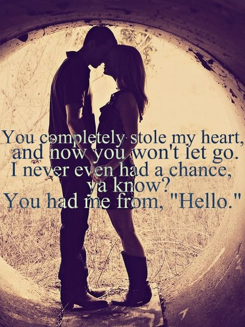 Country love songs for her from him