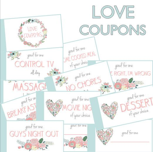 Anniversary coupon template