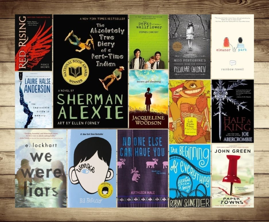 Best new books for young adults