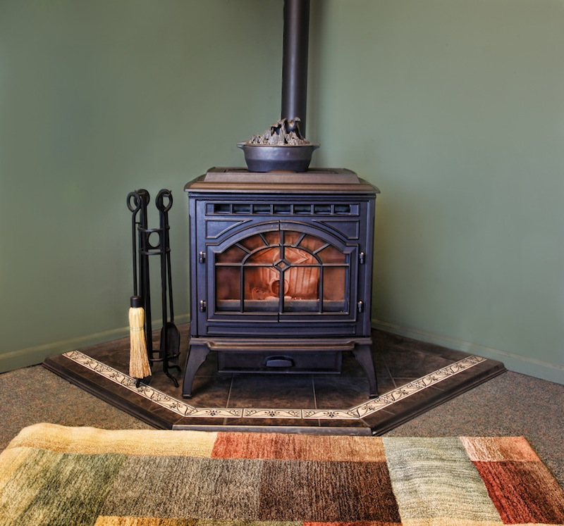 Can you hook up a pellet stove to furnace