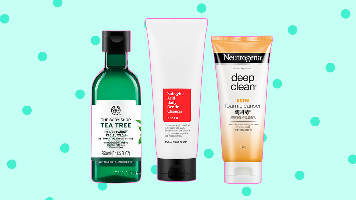 Best face products for acne prone skin