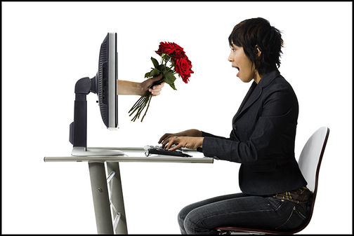Online dating service that