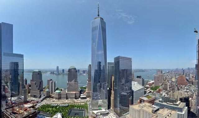 One world trade center construction time lapse