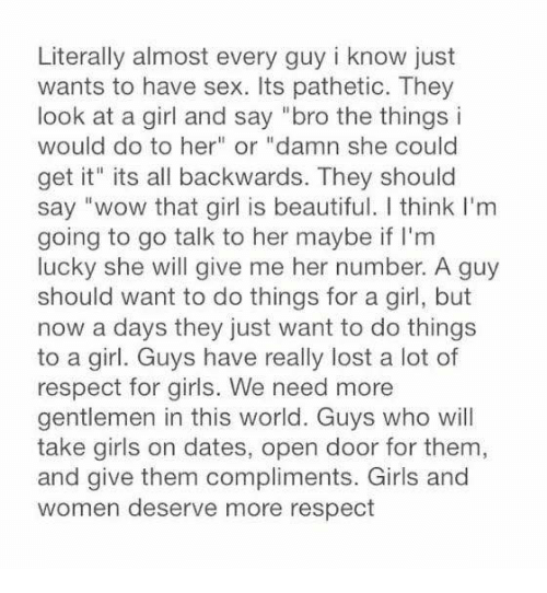 What a girl wants in a guy