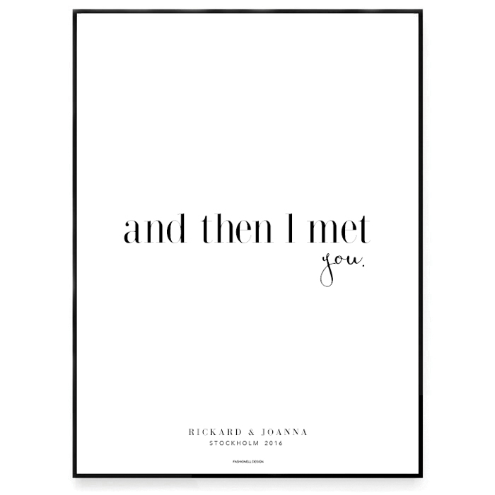 And then i meet you