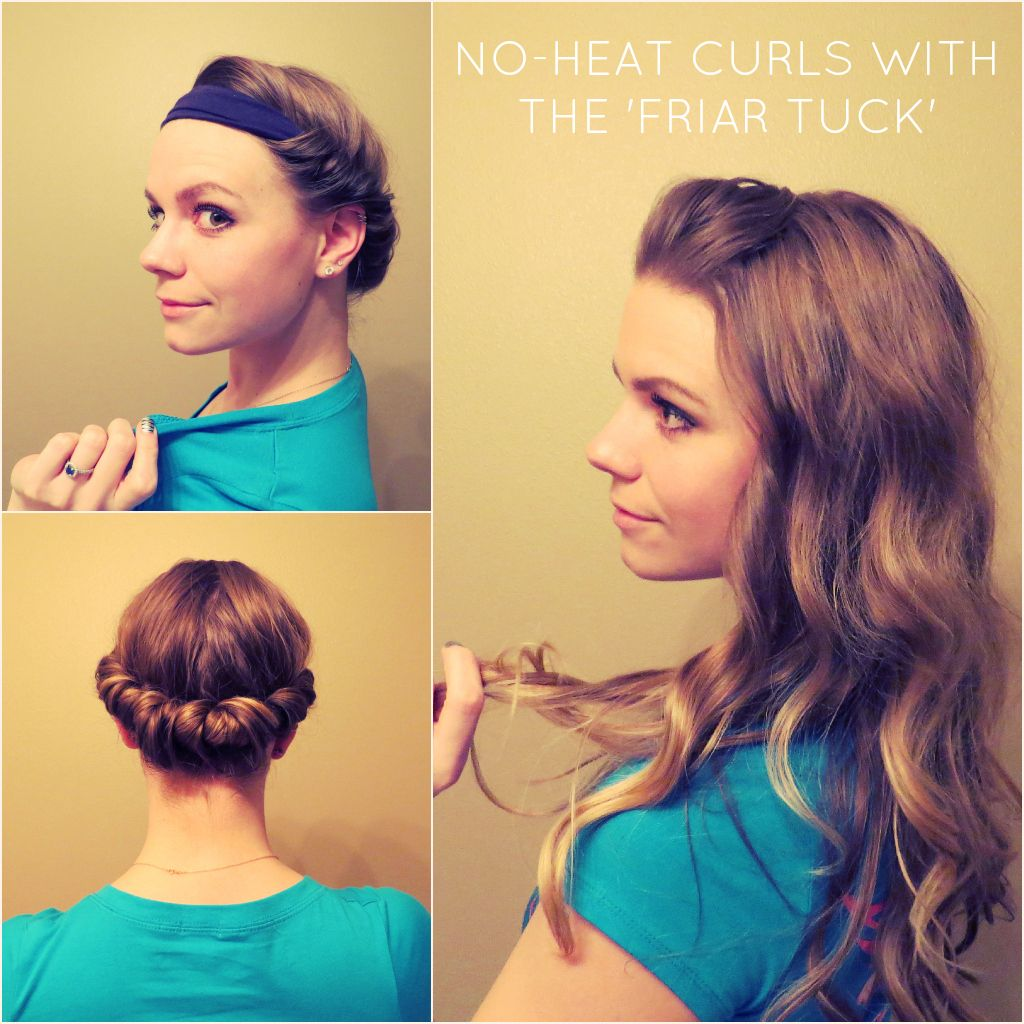 How to get curls with no heat