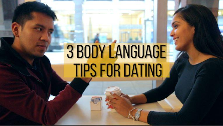 Body language for attraction