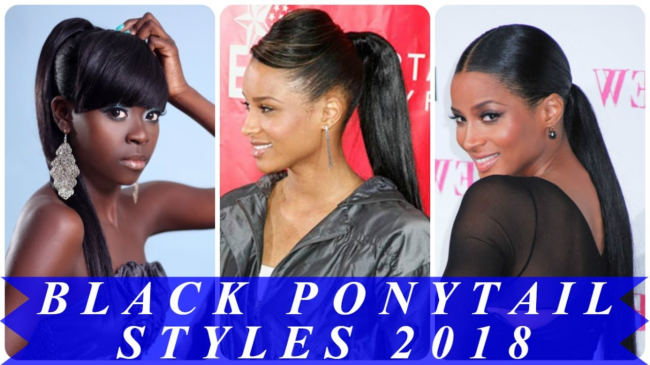 Ponytail styles for african american hair