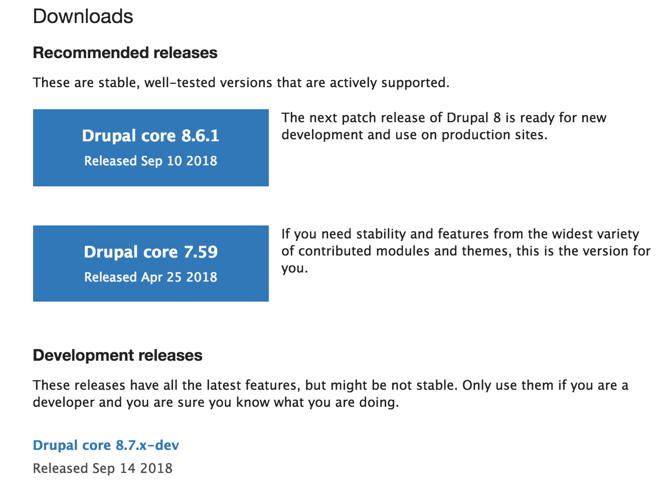 Updating drupal 7 x to newer minor version