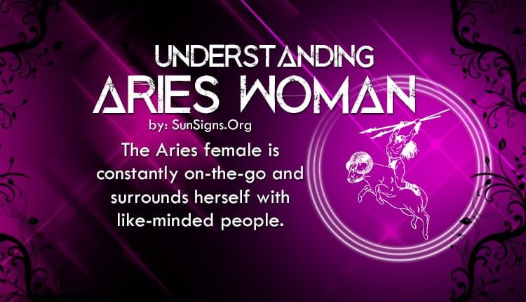 Tell me about aries woman