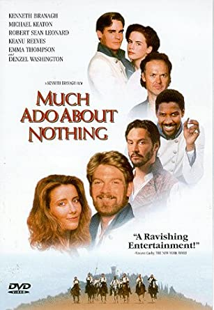 Much ado about nothing movie script