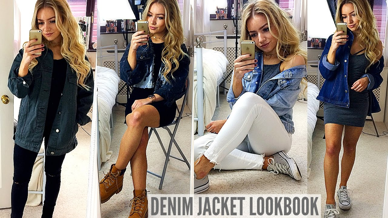 What looks good with a denim jacket