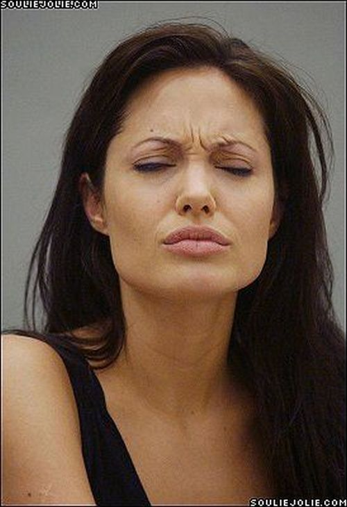 Angelina sexy face
