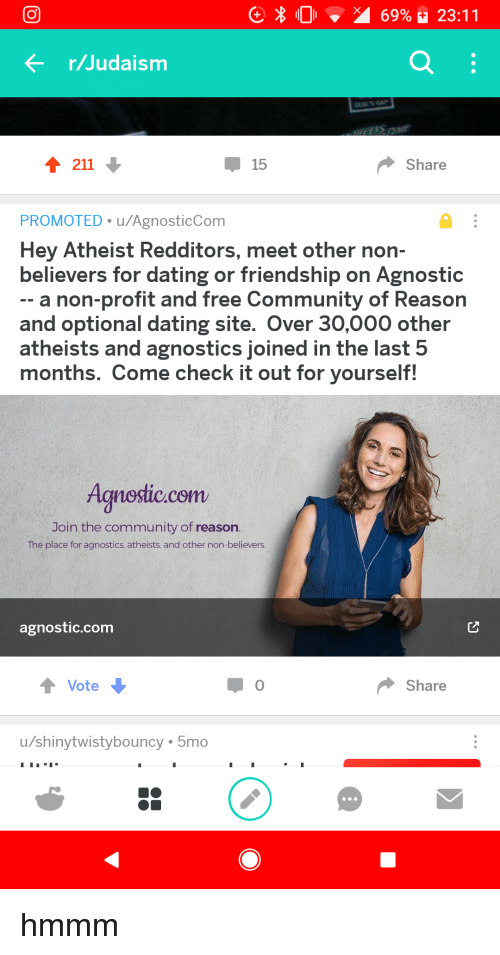 Atheist dating sites free