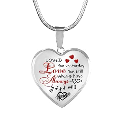 Necklace for your girlfriend