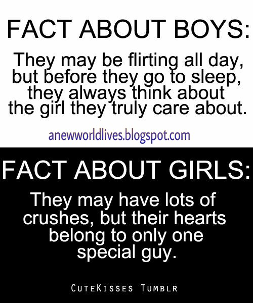 Funny facts about boys