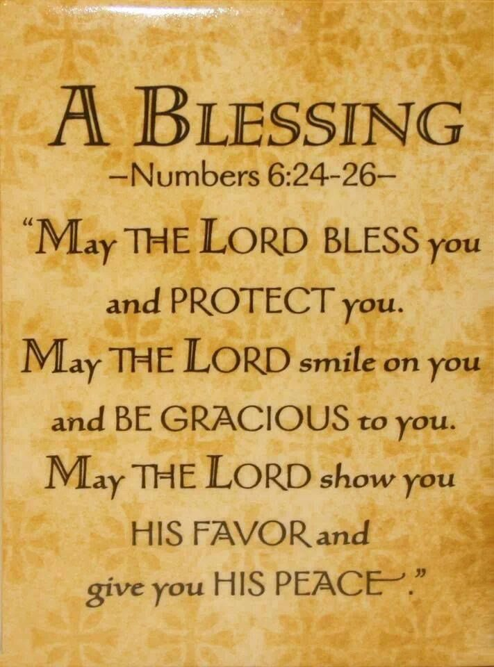Prayers of blessings for adults
