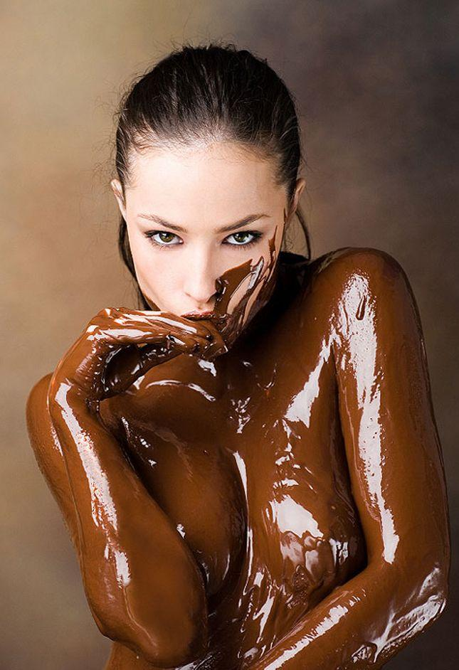 Chocolate sex fetish