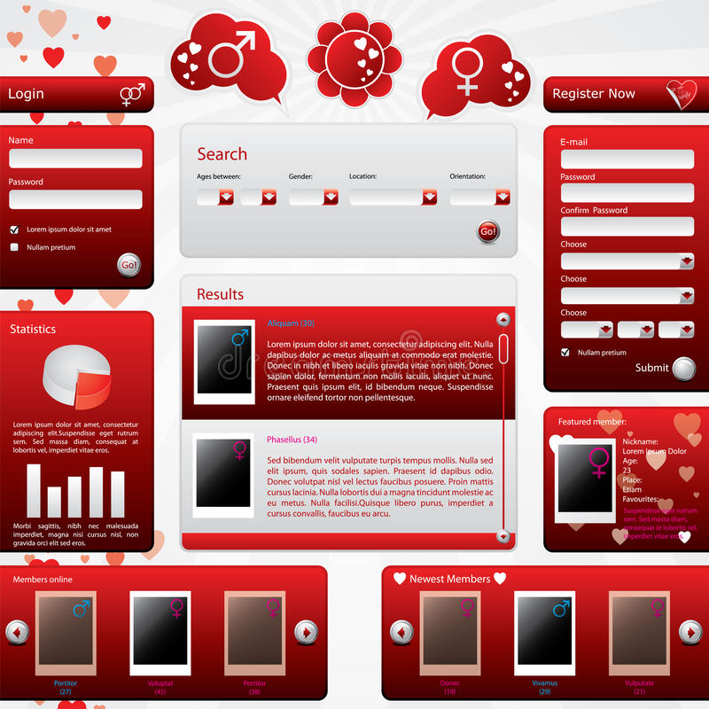 Free dating website templates download