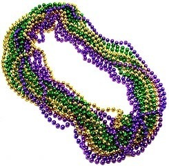 What do mardi gras necklaces mean