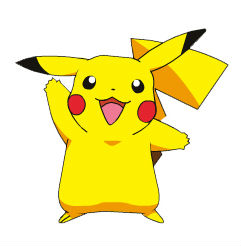 Pikachu with a penis
