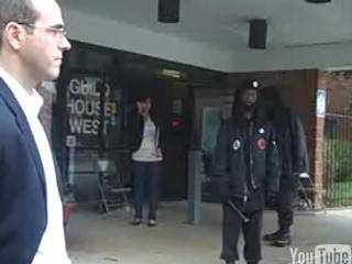 New black panther party intimidating voters