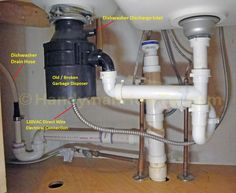 How to connect double sink drains