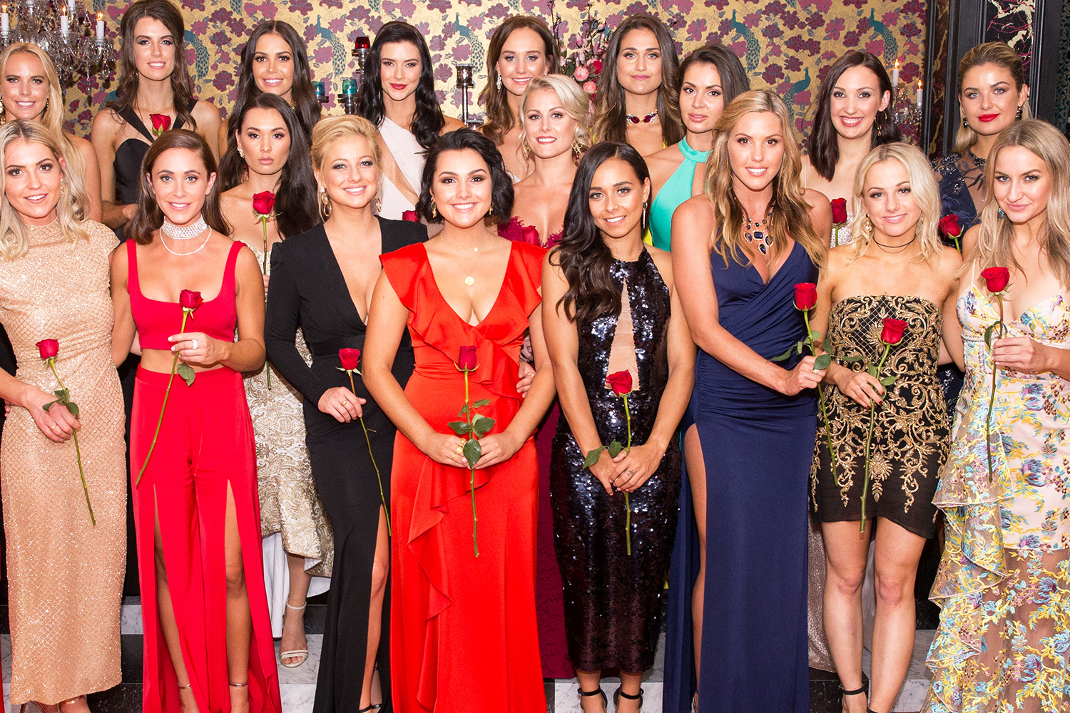 Girls from the bachelor
