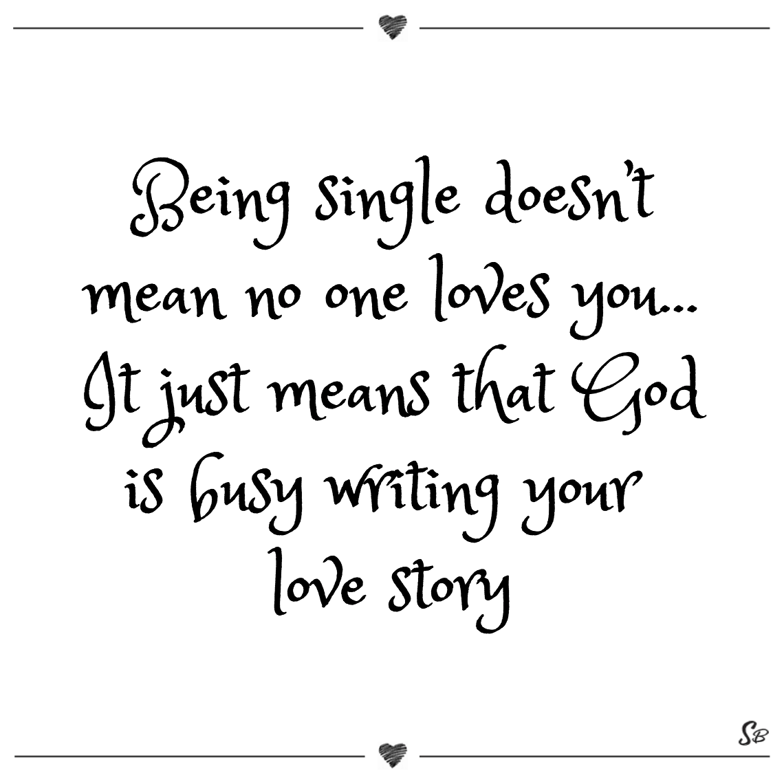 Single quotes for guys