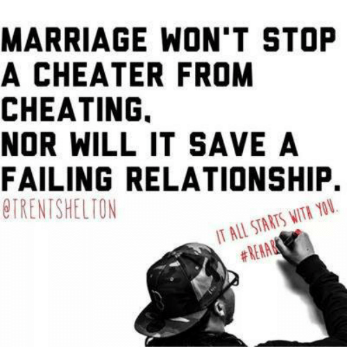 How to stop a cheater from cheating