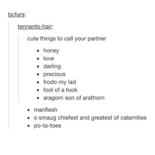 Couple nicknames