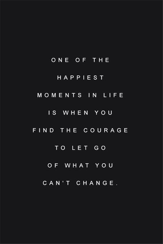 I have to let go quotes
