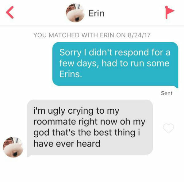 Good one liners for tinder