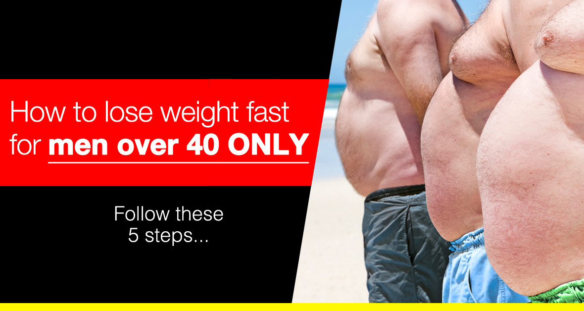 Losing weight for men over 50