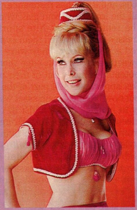 I dream of jeannie boobs